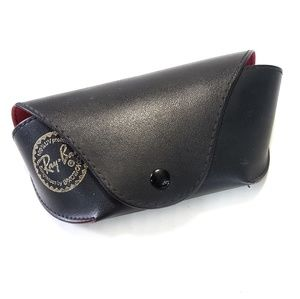 Rayban Snap Closure Eyeglass Sunglass Case Black